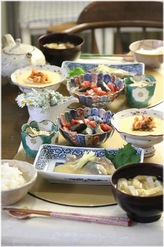 【レシピ・リンク】鯖の味噌煮。と 献立。と 日々の宝物。