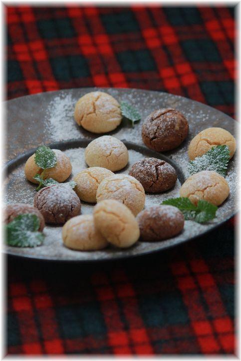材料4つの 混ぜるだけ♪ さくほろクッキー。