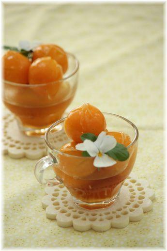 金柑のはちみつ生姜煮。