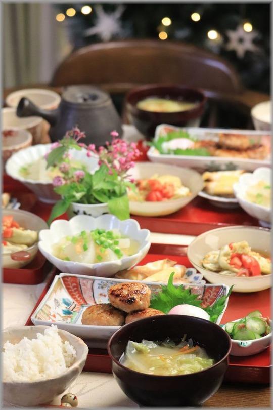 【レシピ】お豆腐鶏つくね。と 居酒屋さんみたいな献立。と 食べてる写真ばかり。
