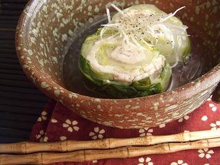 クタクタ・クルクル白菜。