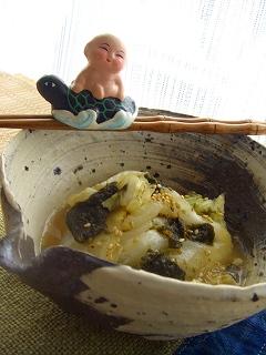 白菜のゴマ味噌チン♪