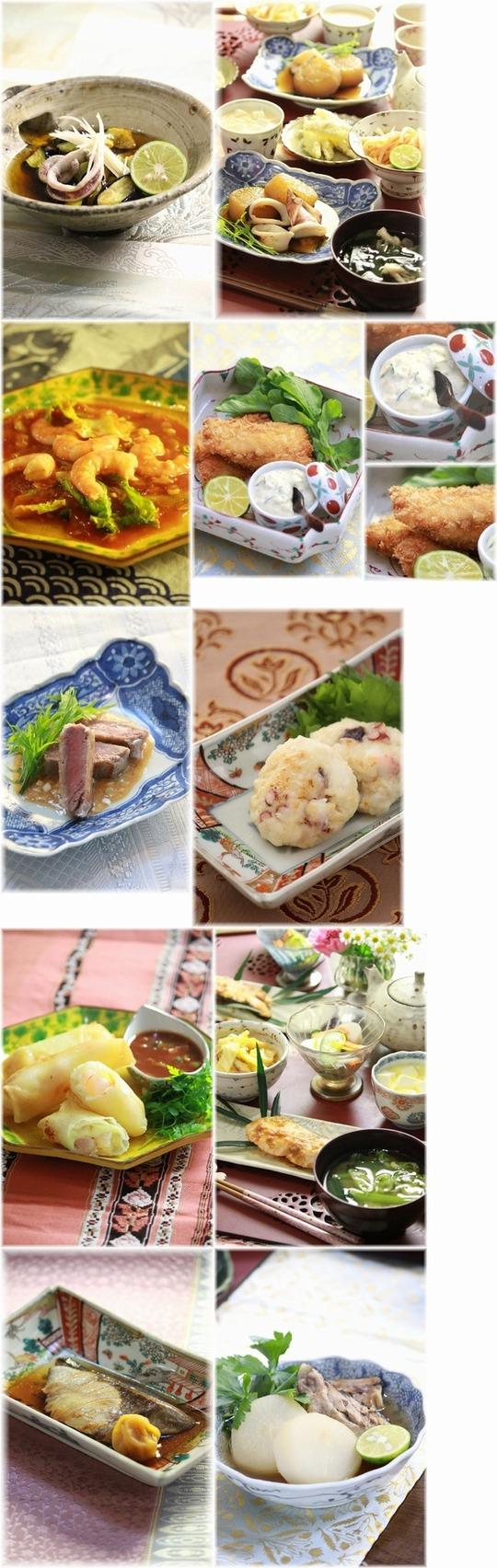 【まとめ】家族の好きなお魚&魚介の10recipes。と 見送る気持ち。