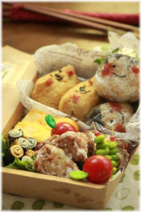 楽チン ワサビきゅうりお稲荷さん お弁当と、繋がるレシピ。