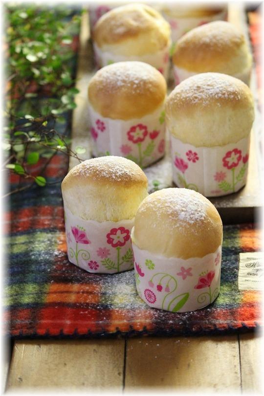 【レシピ】りんごカスタードパン。 と 中2
