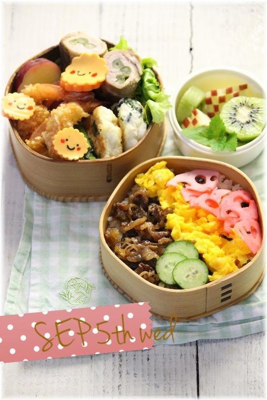 お弁当水曜日YHF1