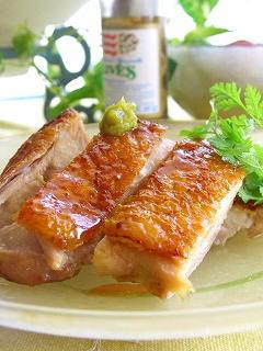 鶏のはちみつ山葵(ワサビ)ソテー☆