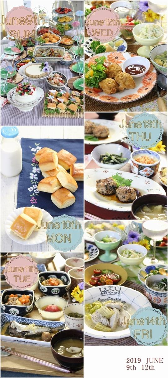 6月9日~12日のお買い物とその仕込み そして夕飯展開。