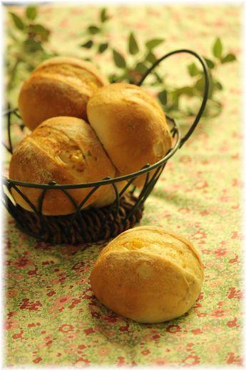 バジルコーンパン。