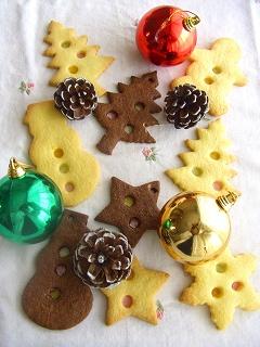 クリスマス☆オーナメントクッキー♪