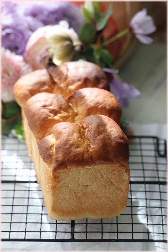 【レシピ】ダブルミルク食パン。と 3月11日のこと。