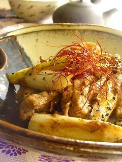 豚肉と葱の海苔ゴマ炒め☆