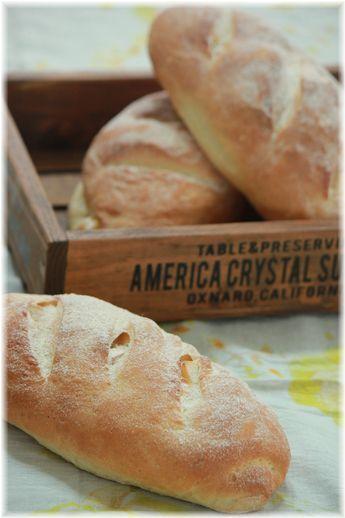 チーズ入りソフトフランスパン。