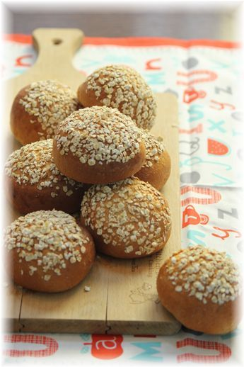全粒粉とはちみつのバンズパン。 と お弁当。