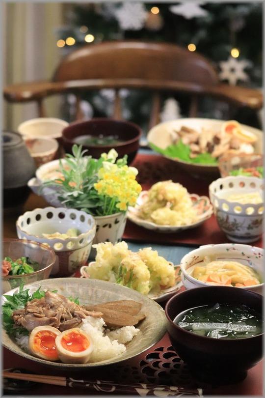 【レシピ】ほろほろ柔らか鶏ごぼう丼。と 献立。と  欲しいものをあげたい気持ち。