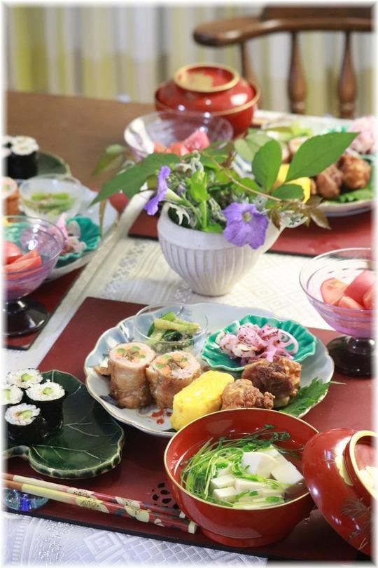 【レシピ】お弁当おかずみたいな献立。と ふんわりした指示と希望。