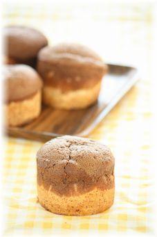 チョコバナナ胚芽パン。