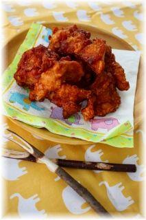 味噌生姜から揚げ。
