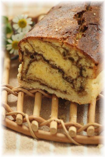 ジンジャーカフェオレパウンドケーキ。