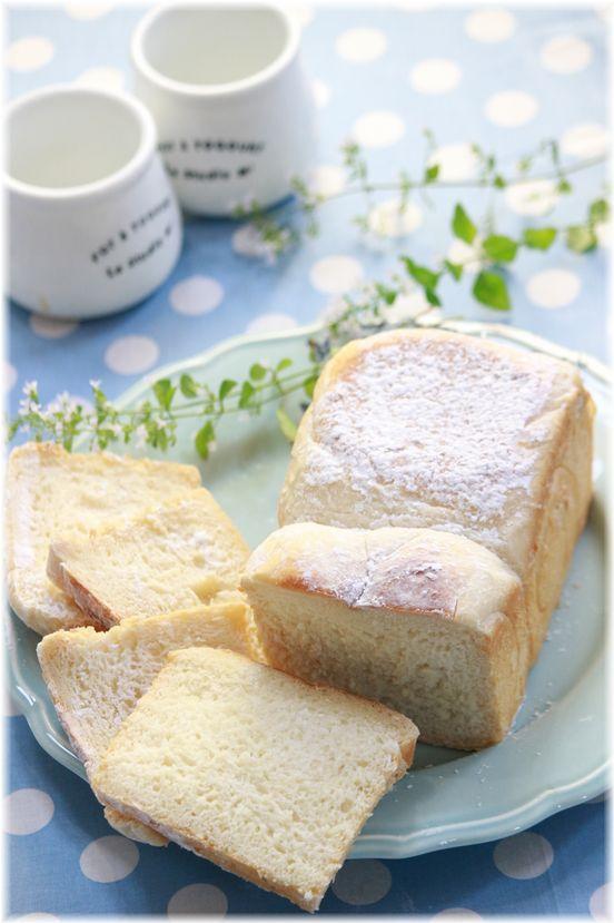 「カルピス」香る ふわふわ食パン。