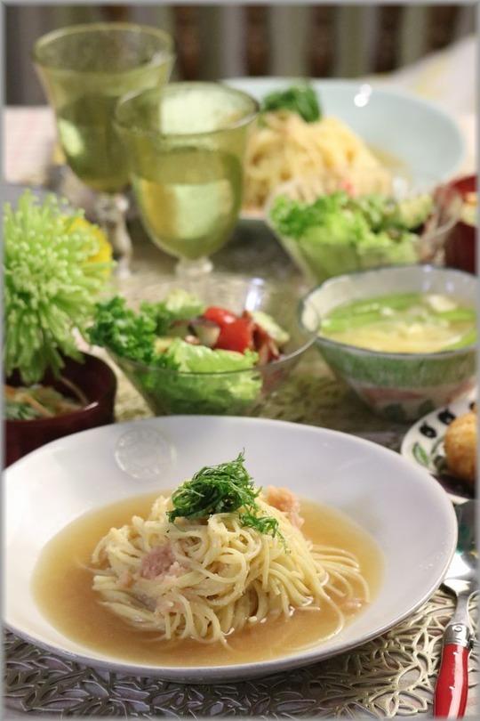 【レシピ】たらこスープパスタ。と 献立。 と 2021初お弁当。