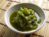 YOMEちゃんのブログ-お茶の葉酢の物