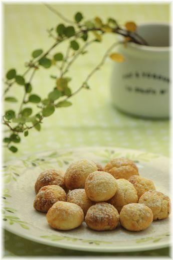 オリーブオイルとヨーグルトのクッキー。