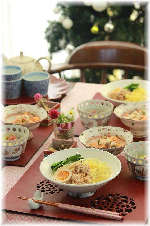 鶏生姜ラーメン。 と お昼ごはん。