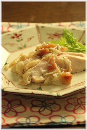 梅しらす蒸し鶏YHF