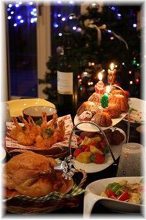 メリークリスマス!とハーブ海老フライ♪