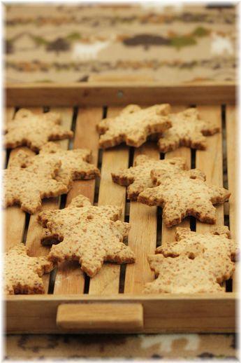 グラハム全粒粉のクッキー。