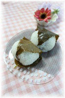 杏仁いちご桜餅。