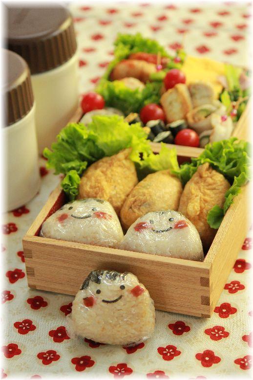 梅そぼろお稲荷さんの お弁当。と 繋がるレシピ。
