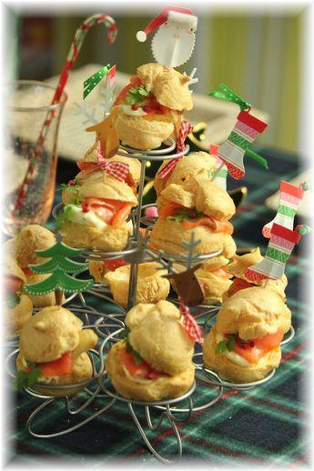 チーズシュータワー。 とクリスマス会の献立。