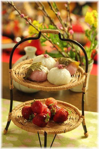 ミルク桜餅。