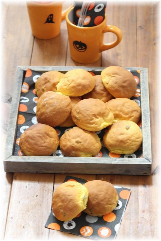 【レシピ】かぼちゃパンのサンドイッチ。 と ハロウィンの準備♪