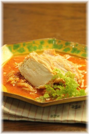 味噌キムチの蒸し鶏YHF