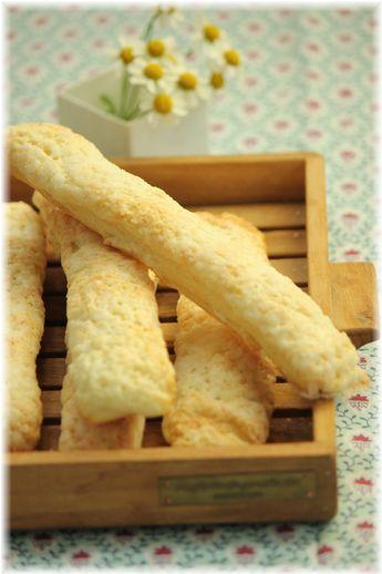 スティックメロンパン。