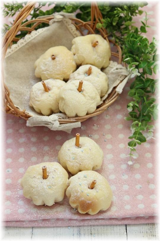 【レシピ】白いりんごチーズパン と 中学生の帰り道。