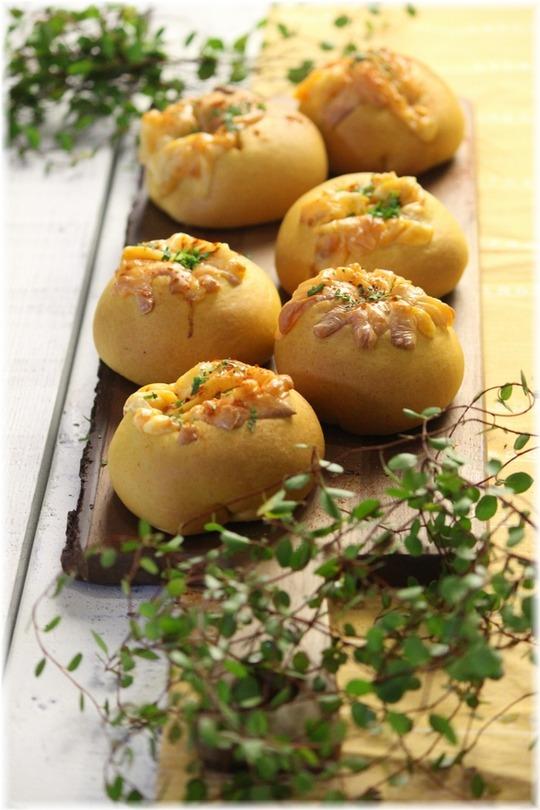 【レシピ】チーズミートパン。と 楽しく、充実、くつろげる訳。