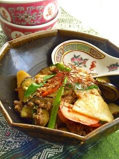 パリパリ野菜の麻婆チン♪