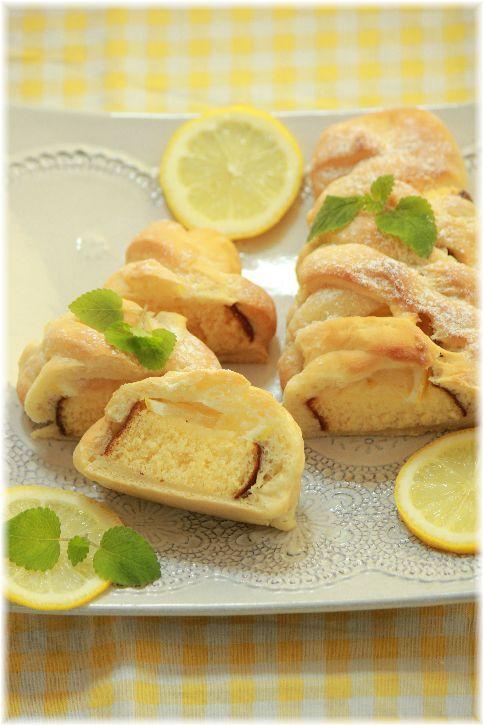 冷やして食べる カステラレモンパン。