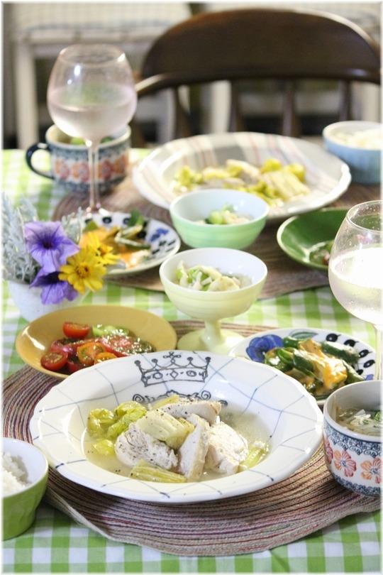 【レシピ】セロリと鶏肉のほったらかし煮。と 献立と 夫婦喧嘩(T_T)
