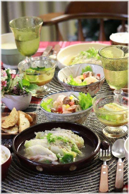 【レシピ】レンチン☆で速攻♪ 白菜の重ね蒸し。と 献立。と 授業参観。