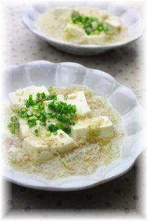 白い麻婆豆腐・2. と献立。