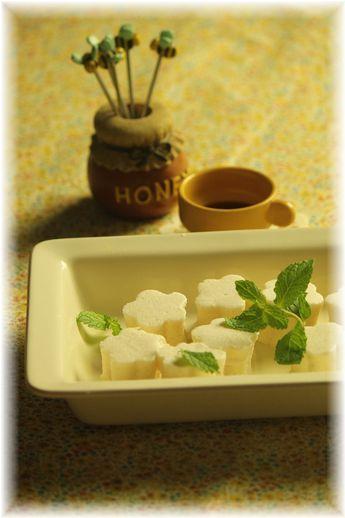 はちみつお豆腐ギモーヴ。