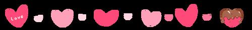 バレンタイン帯