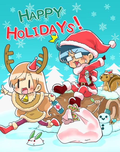 クリスマスよめだん2018