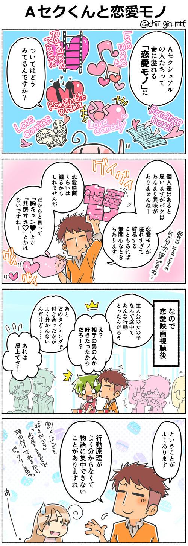 Aセクくんと恋愛モノ
