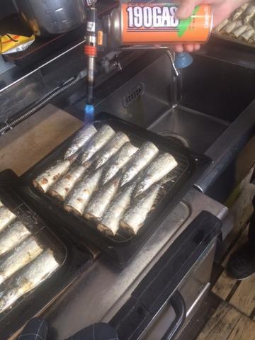 秋刀魚の焼き